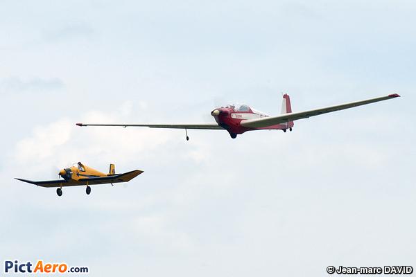 Scheibe SF-28A Falke Tandem (Amicale Eric Nessler)