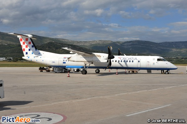 De Havilland Canada DHC-8-402Q Dash 8 (Croatia Airlines)