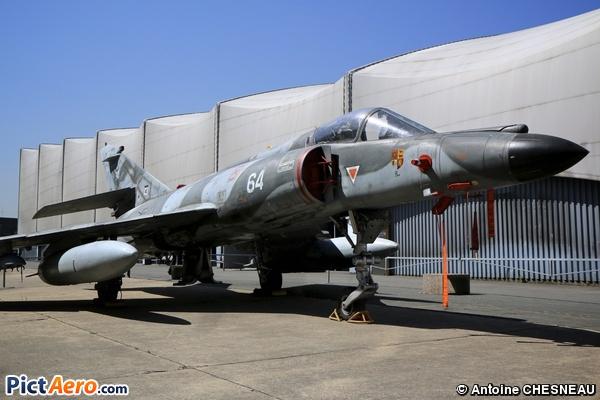 Dassault Super Etendard SEM (Musée de l'Air et de l'Espace du Bourget)