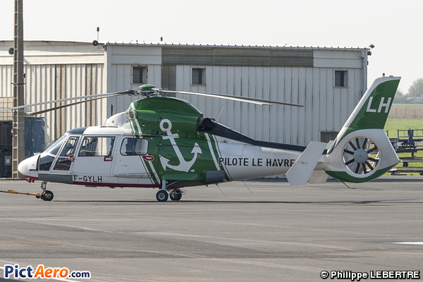 Eurocopter AS-365N-3 Dauphin 2 (COLLECTIVITE DES PILOTES DU HAVRE FECAMP)