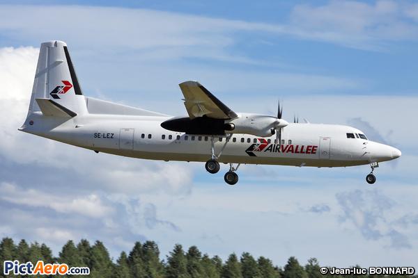 Fokker 50 (AIR VALLEE)