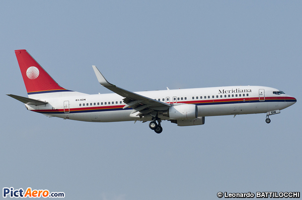 Boeing 737-84P (Meridiana Fly)