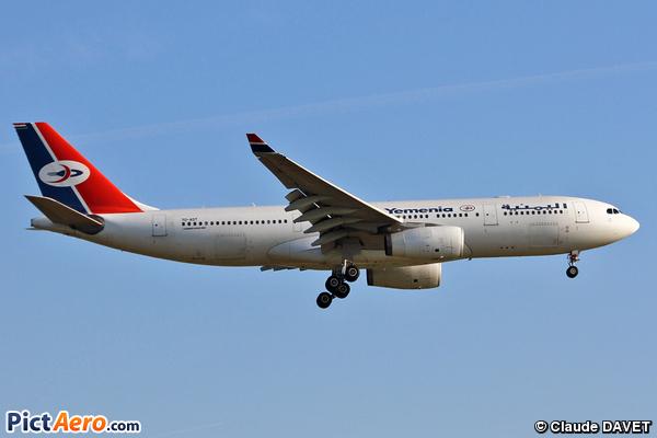 Airbus A330-243 (Yemenia - Yemen Airways)