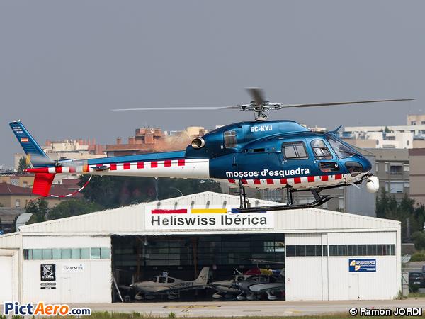 Eurocopter AS-355NP Ecureuil 2 (Spain - Mossos d'Escuadra)