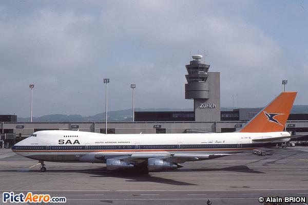 Boeing 747-244B (South African Airways)