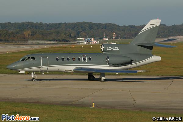 Dassault Falcon 50EX (PRIVATE)