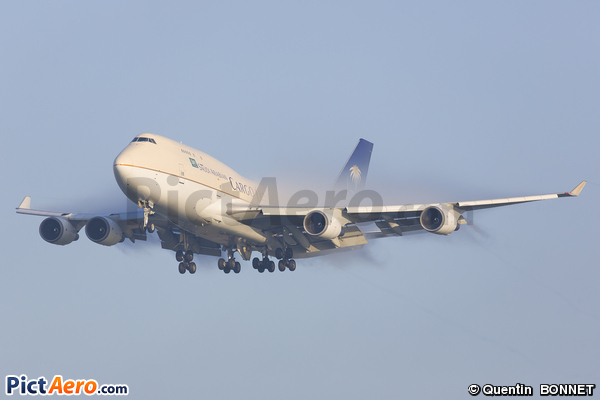 Boeing 747-481/BCF (Saudi Arabian Airlines Cargo)