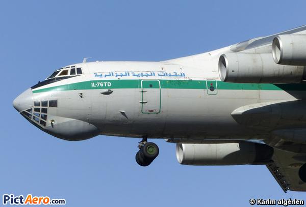 Ilyushin IL-76TD (Algeria - Air Force)