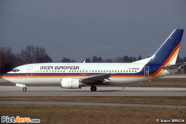 Boeing 737-3Y0 (Inter European Airways)