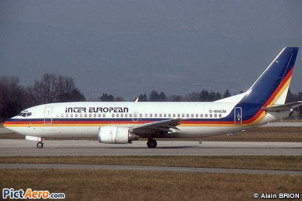 Boeing 737-3Y0 (Inter European Airways)