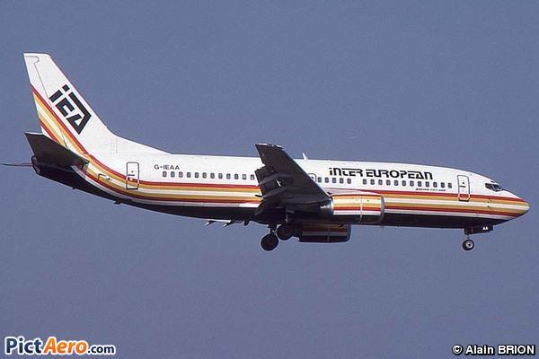 Boeing 737-33A (Inter European Airways)