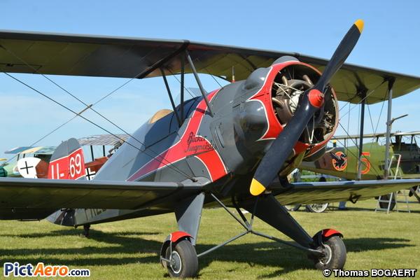 Bücker Bu-133C Jungmeister (Salis Baptiste)
