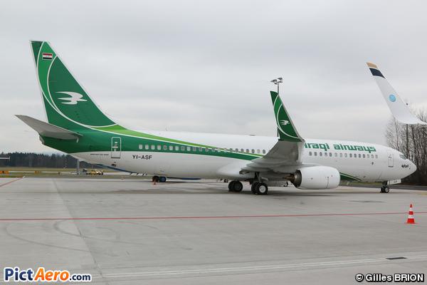 Boeing 737-81Z/WL (Iraqi Airways)