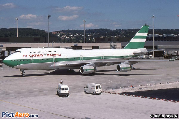 Boeing 747-467 (Cathay Pacific)