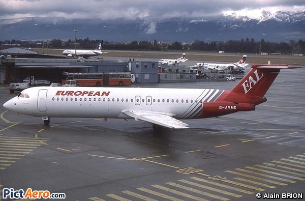 BAC 1-11-510ED One-Eleven (European Aviation Air Charter)
