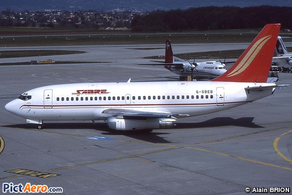 Boeing 737-204 (Sabre Airways)