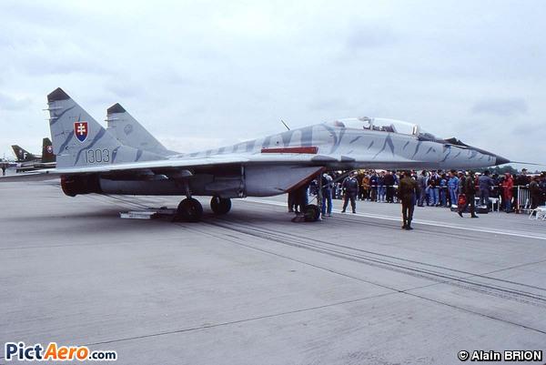 Mikoyan-Gurevich MiG-29UBS (Slovakia - Air Force)