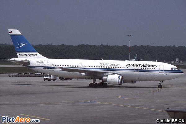 Airbus A300B4-605R (Kuwait Airways)