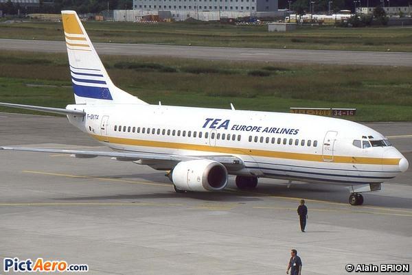 Boeing 737-3M8 (TEA - Trans European Airways)