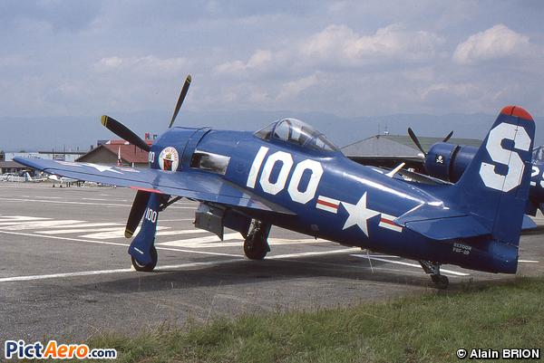 Grumman F8F-2P Bearcat (Stephen Grey)