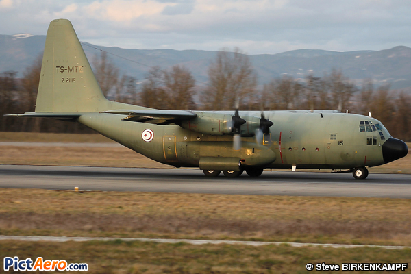Lockheed C-130B Hercules (Tunisia - Air Force)