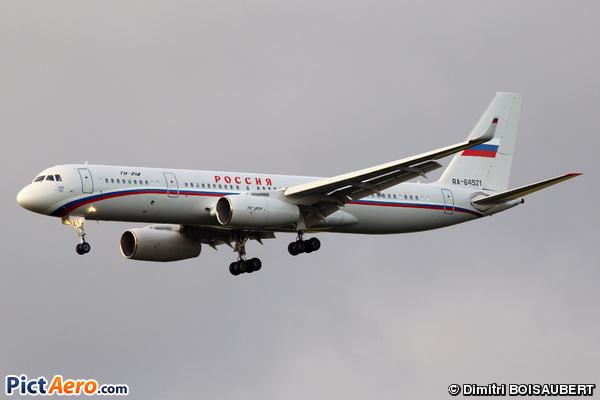 Tupolev Tu-214 (Rossiya - Russian Airlines)