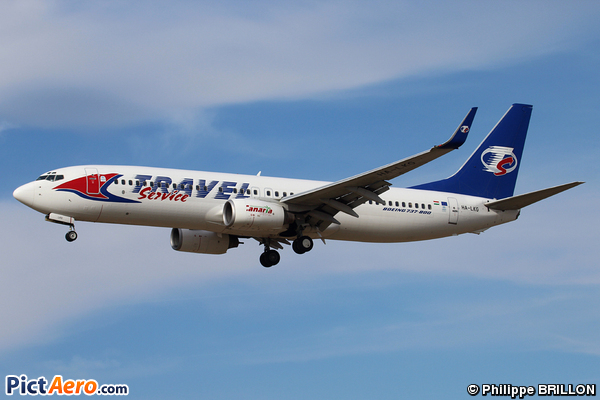 Boeing 737-8CX (Travel Service Hungary)