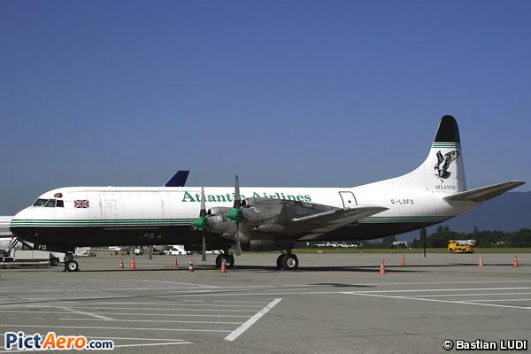 Lockheed L-188AF Electra (Atlantic Airlines)