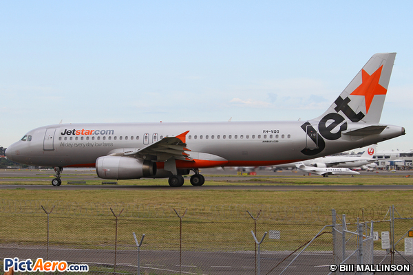 Airbus A320-232 (Jetstar Airways)