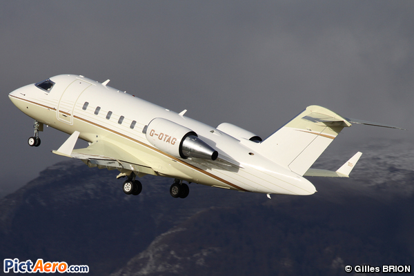 Canadair CL-600-2B16 Challenger 605 (TAG Aviation (UK))