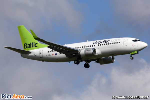 Boeing 737-36Q/WL (Air Baltic)