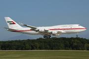 Boeing 747-48E (A6-UAE)