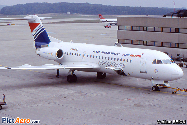 Fokker 70 (F-28-0070) (Air France/Air Littoral)