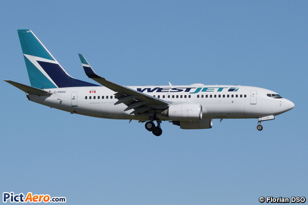 Boeing 737-7CT (WestJet Airlines)