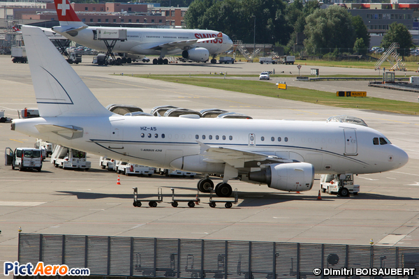 Airbus A318-112CJ Elite (Alpha Star Aviation Services)