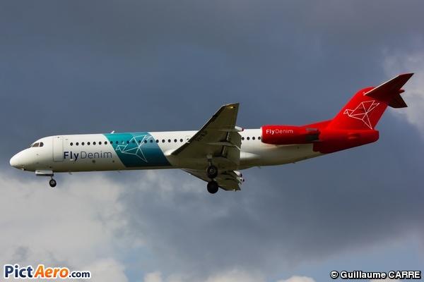 Fokker 100 (F-28-0100) (Denim Air)