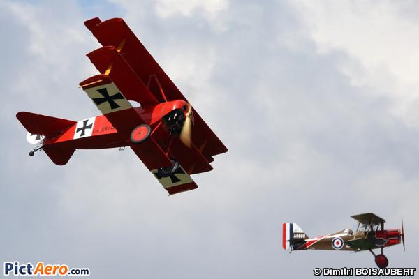 Fokker DR-1 Triplane (Amicale Jean Baptiste Salis)