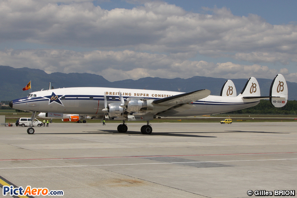 Lockheed C-121C Super Constellation (Breitling)