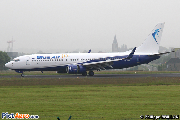 Boeing 737-85R/WL (Blue Air)