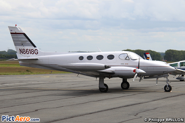 Cessna 340A (Privé / Private)