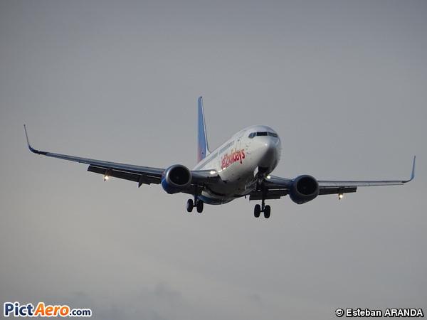 Boeing 737-36N/WL (Jet2 Holidays)
