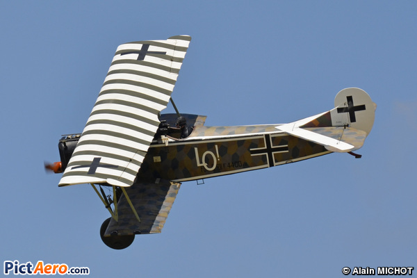 Fokker D-VII (Association Memorial Flight)