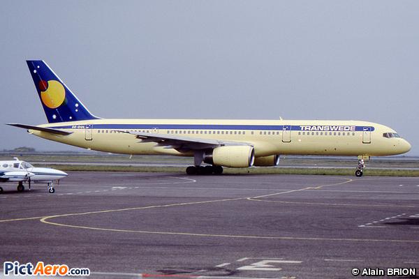 Boeing 757-2Y0 (Transwede Airways)