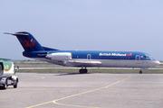 Fokker 70 (F-28-0070) (G-BVTE)