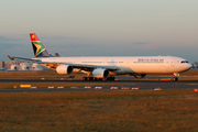 Airbus A340-642 (ZS-SNG)