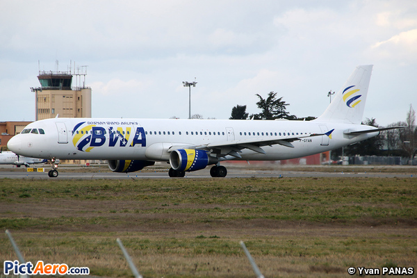 Airbus A321-211 (Bosnian Wand Airlines)