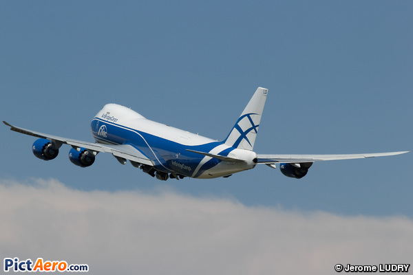 Boeing 747-8HVF  (Air Bridge Cargo Airlines)