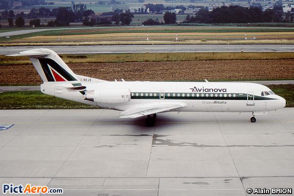Fokker 70 (F-28-0070) (Avianova)