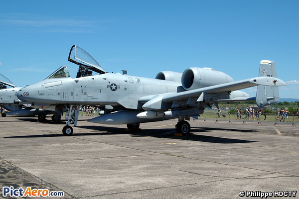 Fairchild A-10C Thunderbolt II (United States - US Air Force (USAF))