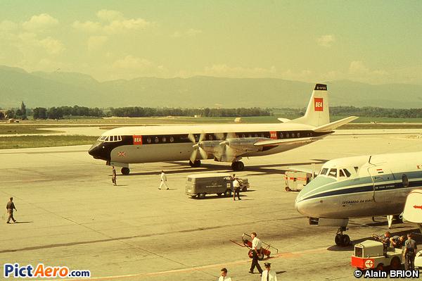 Vickers 953 Merchantman (BEA - British European Airways (TechAir Ltd))